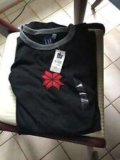 Long Sleeve Men's Crewneck Sweatshirts Gap 2XL Black