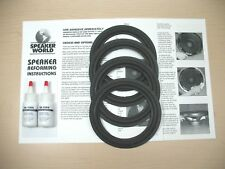 "EPICURE  Dual Quad 6""-6.5"" Speaker Woofer Repair Kit For E.P.I Model M-400"