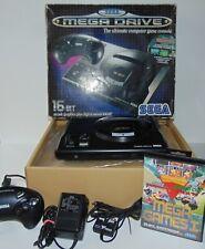 Original 1992 Sega Mega Drive 1 Console 1601-05 (PAL) Mega Games I Boxed Bundle
