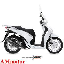 Scarico Completo Mivv Honda Sh 150 2015 15 Terminale Stronger Black Moto Scooter