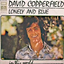 ++DAVID COPPERFIELD lonely and blue/in this world SP 1973 PATHÉ VG++