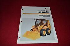 Case Tractor 1835C Uni-Loader Skid Steer Dealers Brochure GBMD2
