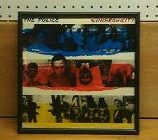 The Police: Synchronicity, Framed Record Album, Excellent Condition!
