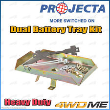 Nissan Navara D22 2.5L 4WD PROJECTA Dual Battery Tray Auxiliary Complete Kit