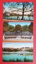 3 x AK KIEL 1917 Ansichten mit jeweils Marine Schiffspost Stempel    ( 21468