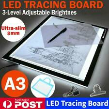 A3 LED Light Box Tracing Drawing Board Art Design Pad Copy Lightbox Day & Light