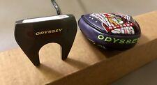 "Tour Issued Odyssey Tank #7 34.5"" Putter Steel Golf Club w/ Joker Headcover"