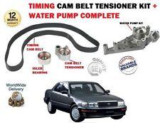 FOR TOYOTA CELSIOR 4.0 V8 1997->NEW TIMING CAM BELT + TENSIONER KIT + WATER PUMP