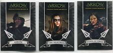 Arrow Season 2 Archers Complete 3 Chase Card Set A1 to A3