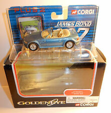 CORGI JAMES BOND 007 GOLDENEYE BMW Z3 AZUL METAL TY 95501 8,50 CM EN BOX