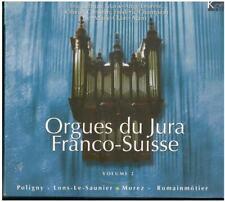 3 CD-Box Orgelmusik Orgues du Jura Franco-Suisse Vol. 2