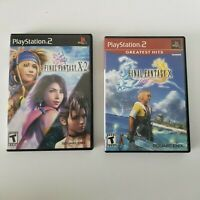 Playstation 2 Bundle: Final Fantasy X & X-2 - Complete