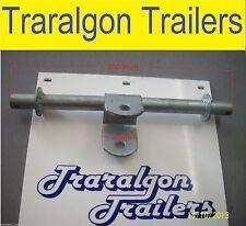 galvanised Dual multi roller bracket double wobble boat trailer galvanized G179