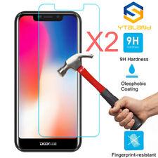 2Pcs Tempered Glass Film Screen Protector For Doogee X80 X70 X60L X53 X20 X30