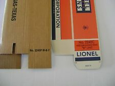 Lionel 2245 Texas Special AB  Engine Licensed Reproduction Boxes
