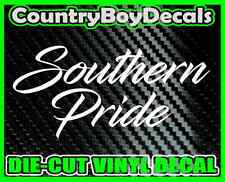 Southern Pride Vinyl DECAL Sticker TRUCK Car Lifted Boosted Turbo Diesel Dixie