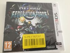 Brand New Factory Sealed - Metroid Prime Federation Force - 3DS/2DS