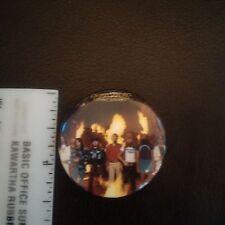 Lynyrd Skynyrd Street Survivors round promo pin late 70's/early 80's RARE!