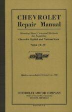 Chevrolet Car & Truck 1927-1928 Shop Manual Chevy