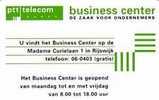 Telefoonkaart / Phonecard Nederland CKE001.09 ongebruikt - BC Rijswijk