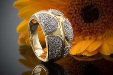 Schmuck Diamantring Ring mit Diamanten in 750er Gelbgold 18 Karat Gold