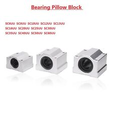 Linear Motion Ball Bearing Pillow Block 6/8/10/12/13/16/20/25/30/35/40/50/60mm