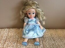 """ZAPP CREATION Soft Bodied Dolly 12"""" very cute démoniaque blue dress"""
