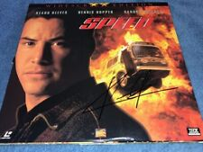 KEANU REEVES Signed Autographed Speed Laser Disc