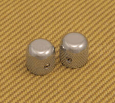 009-4040-049 Genuine Fender USA '50s Chrome Dome Knobs for P Bass/Telecaster