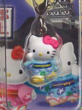 [New] Sanrio Hello Kitty GUNJO YUKATA Ver. Cell Phone Strap / Charm Mascot