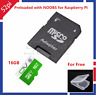 NOOBS for Raspberry Pi 3 Model B preloaded on 16G Class 10 Micro SD Card