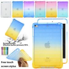 "For iPad 7.9"" Mini 1 2 3 4 5 Gradient Clear TPU Case Cover Soft Skin"