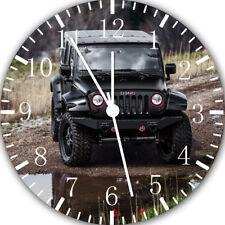 Jeep Wrangler Off Road Frameless Borderless Wall Clock Nice For Gifts E282