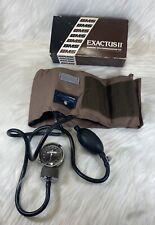 Bms Exactus Ii Sphygmomanometer Blood Pressure Cuff Adult Size Gauge Japan