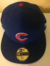 Chicago Cubs New Era 59FIFTY 2016 World Series Champions Patch Hat Fitted 7 3/8