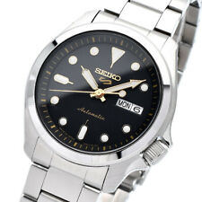 New SEIKO 5 SBSA047 Automatic 40mm Black Dial 24 Jewels Japan Made