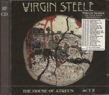 Virgin Steele - House of Atreus, Act II (2 CD Set 2007) NEW / SEALED