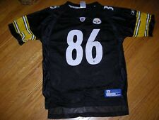 NFL, Reebok, Pittsburgh Steelers jersey, #86, Hines Ward, size youth Large, gd