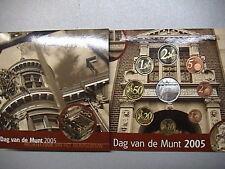 OLANDA 2005 SERIE DIVISIONALE FDC 8 MONETE EURO DAG VAN DE MUNT IN FOLDER