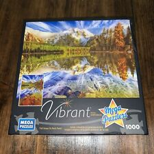 Mega Puzzles- Vibrant 1000 Piece Leigh Lake Reflections- Jigsaw Puzzle