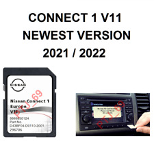 Genuine Nissan Connect 1 V11 Maps Latest Sat Nav SD Card 2021/2022