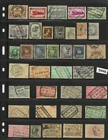 #5446   Belgium stamp collection / All different pre WWII / 19th century to 1935