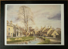 Cotswolds framed wall art -50x70cm, Spring in the Cotswolds by Alan Ingham