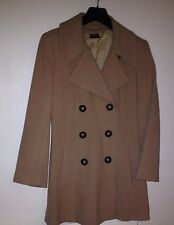 Beige Double Breast Coat Size 12