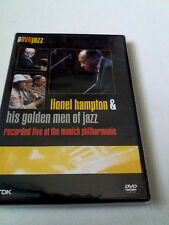 "LIONEL HAMPTON & HIS GOLDEN MEN OF JAZZ ""RECORDED LIVE AT THE MUNICH PHILHA"" DVD"