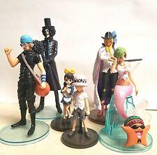 One Piece Styling 6 figure set Bandai Cavendish Brooke Usopp Trafalgar Law Caymy
