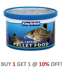 King British Catfish Pellets Bottom Feeder Aquarium Tropical Food 65g 200g 600g
