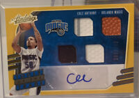 20-21 Absolute COLE ANTHONY Tools Of The Trade Triple JERSEY BALL AUTO RPA /199
