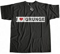 I Love Grunge Worn By Eddie Vedder T-Shirt 100% Premium Cotton