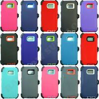 For Samsung Galaxy (S6 Edge) Case Cover (Clip Holster fits Otterbox Defender)